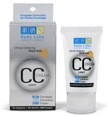 Penggunaan Hada Labo CC Cream