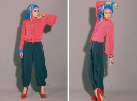 tips memilih pakaian hijab yang baik