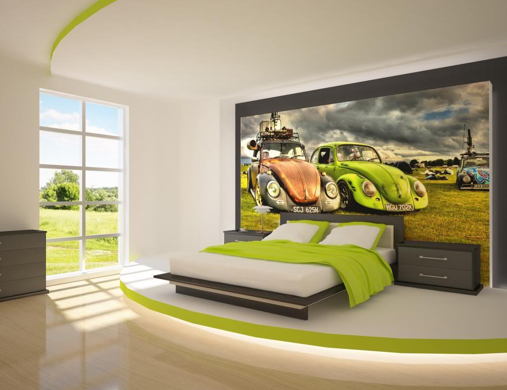 Pilih bahan yang tepat untuk wallpaper dinding rumah Anda