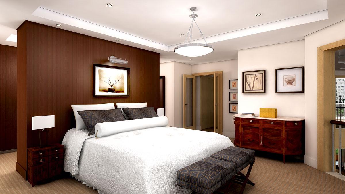 desain kamar tidur monochrome untuk pria mapan | galih pamungkas